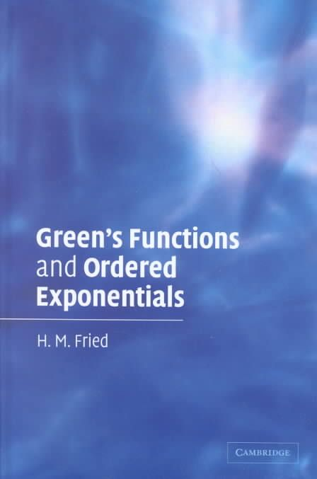 Green's Functions and Ordered Exponentials