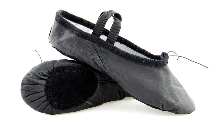 pig  leather  of  ballet  slippers  shoes