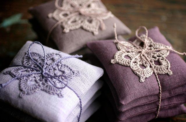 Lavender bags - namolio, via flicker
