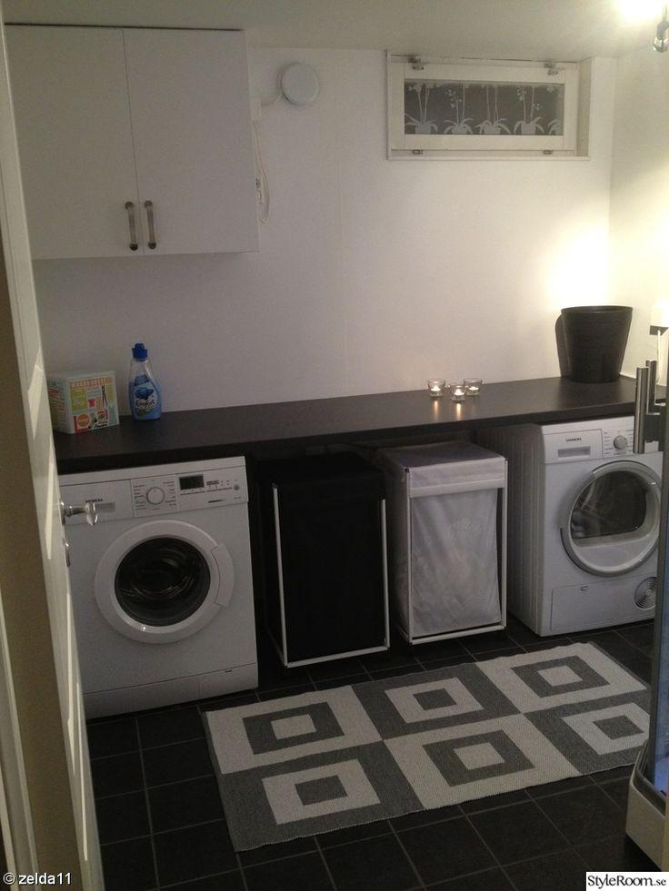 tvättstuga,tvättmaskin,torktumlare,siemens,klinkers