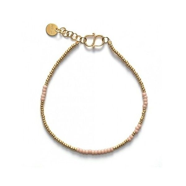 Anni Lu ASYM Bracelet (300 DKK) ❤ liked on Polyvore featuring jewelry, bracelets and rose jewelry