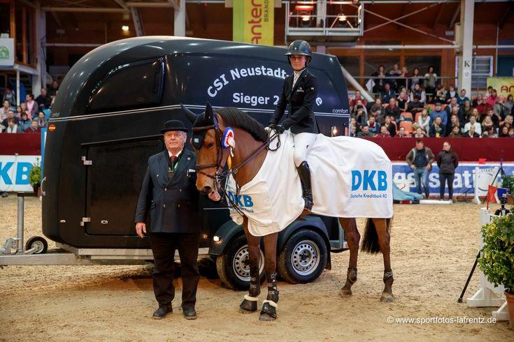 La amazona sueca Irma Karlsson tuvo un excelente inicio de semana en el CSI2* Neustadt-Dosse de Alemania, para reinar en el 24.800 Prize der Deutschen Kreditbank AG.