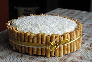 Rafaelo cake
