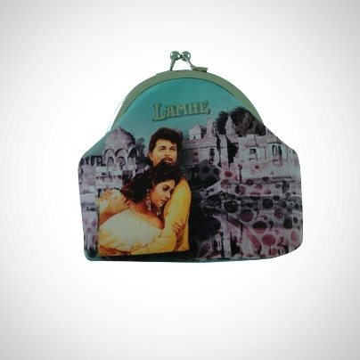 Bollywood Masti Coin Pouch 'Lamhe' Imprint  Now At Rs. 475.00