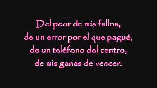 laura pausini em espanhol com letras - YouTube