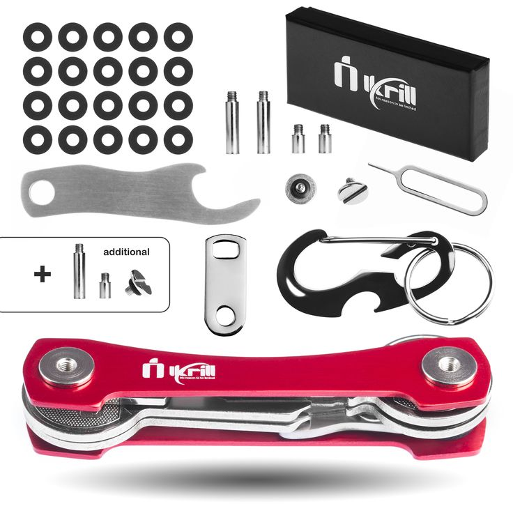 Try our SUPER RED KEY HOLDER with BONUSES and ADDITIONAL reserve parts.