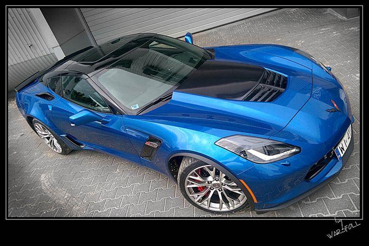 Corvette Z06 Supercar - folia Premium Shield Elite   Warsfoll