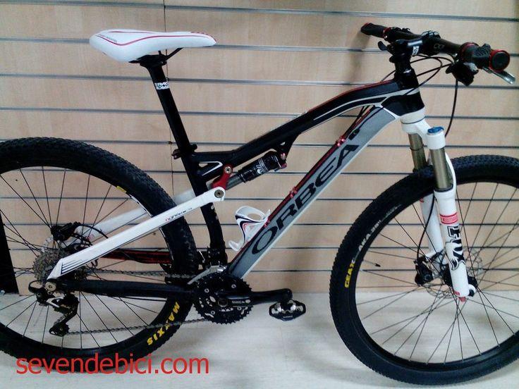Bicicleta Orbea Occam 29 ocasion 1099 euros cuadro aluminio talla S doble suspensión, horquilla Fox 32, amortiguador Fox Flota CTD, cambio Shimano SLX 10V, mano dos SLX, desviador y platos y bielas Deore, frenos Deore, tija y potencia Race Face, muy cuidada, recién revisada