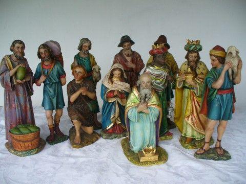 betlém polychromovaný - figury
