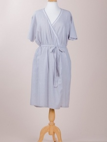 FRENCH COUNTRY 100 Cotton Dressing Robe 8995