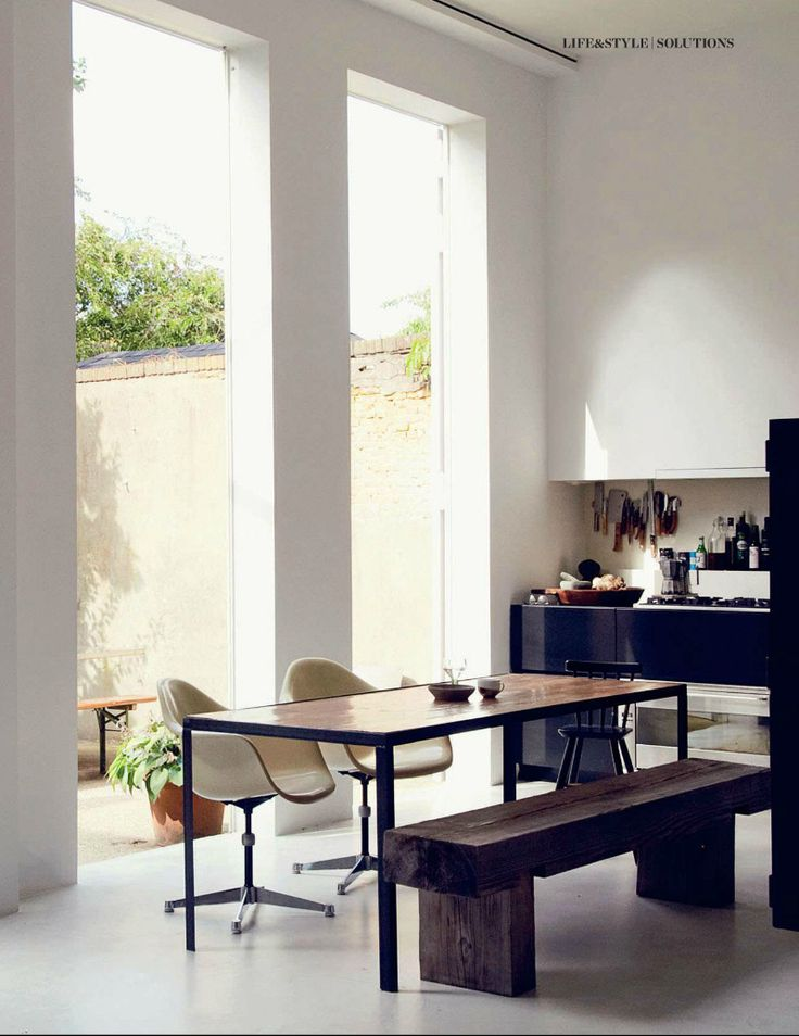 Contemporary kitchen from Elle Decor UK 165