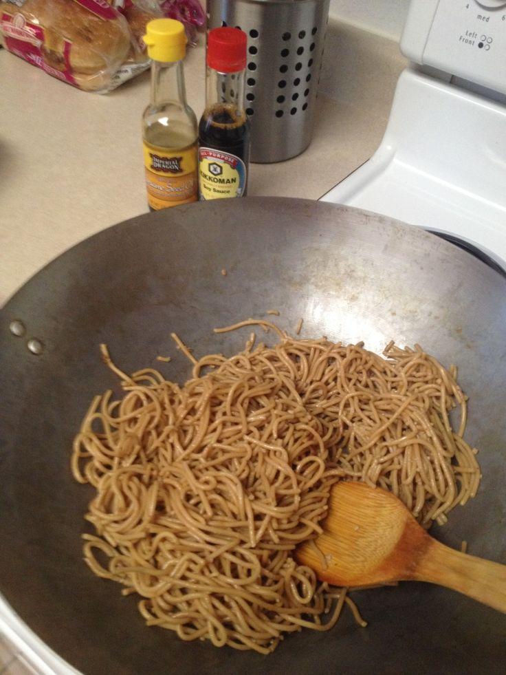 Japanese Hibachi Style Noodles- Stir Fry Recipe