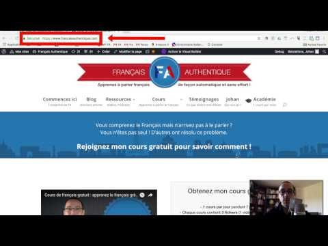 Rechercher une expression française sur le site Français Authentique - YouTube
