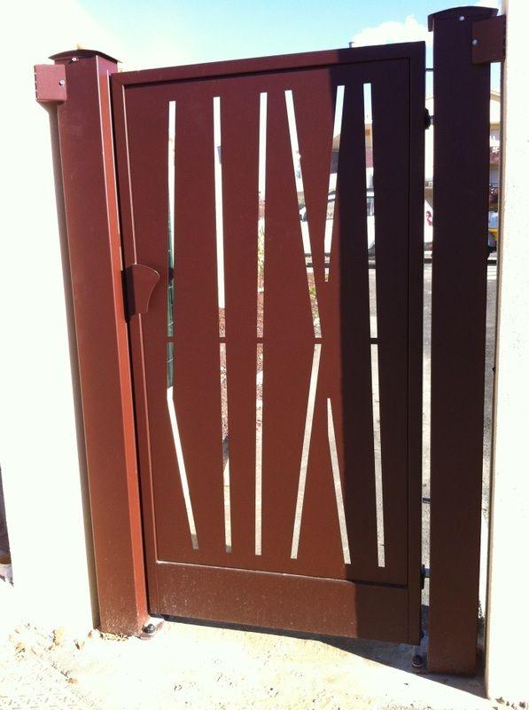 Quelques réalisations de portails et clotures métalliques.