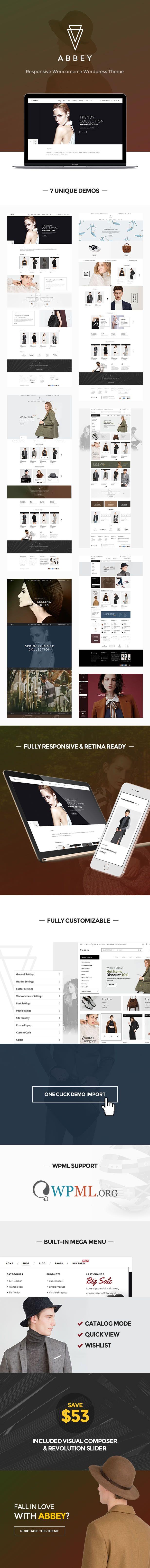 Abbey - Responsive Fashion WordPress Theme