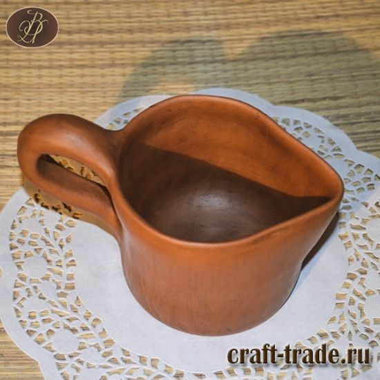 Керамический молочник - гончарная керамика - гончарная посуда заказать в интернет магазине #Рукоделец #handmade #керамика #pottery #керамическая_посуда