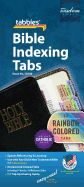 Rainbow Bible Indexing Tabs Including Catholic Books