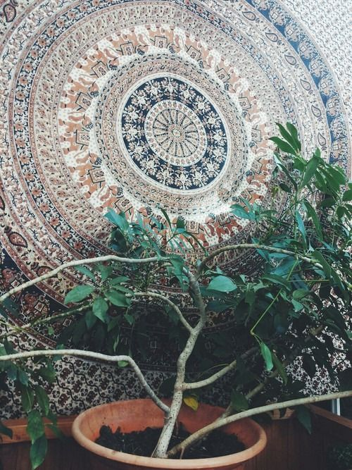 ☮ American Hippie Bohemian Boho Style ~ Mandala Art Wall .. Gypsy living