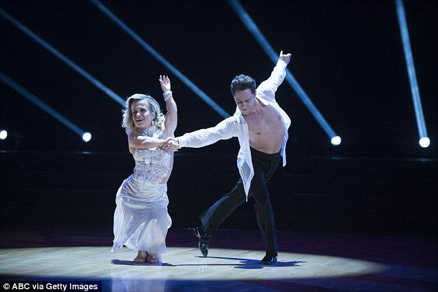 First dance: Terra Jole impressed yet again with her first rumba dance with Sasha Farber