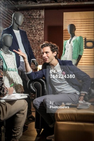Mika during the presentation of his new clothing line that he designed for JBC on May 6, 2013 in Oostende, Belgium