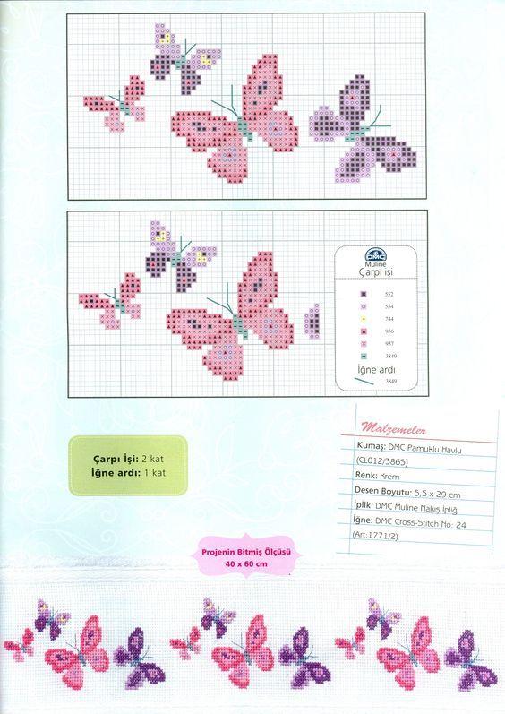 imgbox - fast, simple image host Papillons, différentes tailles Grille point de croix BB méthode horizontale