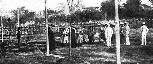 (Posted from precisiontype.com)  Check out these die casting china images: Mi Ultimo Adios – Dr Jose Rizal Fotografía de la ejecución de José Rizal [My Final Farewell – photo of execution of Dr. Jose Rizal] (1896 A.D.)  Image by Rudy E. Escoto (really final poem of Dr Rizal in Spanish language, year 18...  Read more on http://www.precisiontype.com/mi-ultimo-adios-dr-jose-rizal-fotografia-de-la-ejecucion-de-jose-rizal-my-final-farewell-photo-of-execution-of-