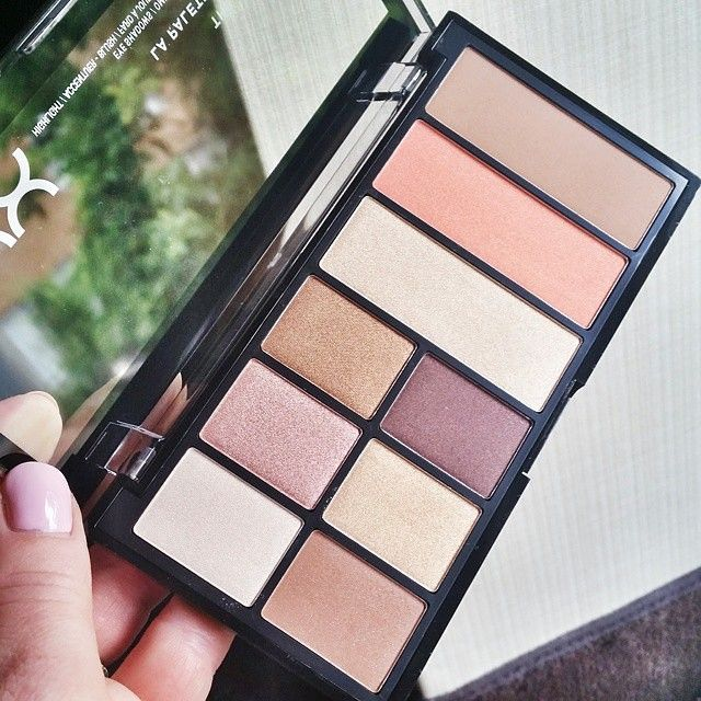 """""""What a perfect go-to for summer and making makeup a breeze. Loved the blush and highlighter!"""" @frugieblog  Thanks for the raving review on our NEW Go-To Palette in 'Wanderlust'! Who's tried our beautifully natural all-in-one palette?    #nyxcosmetics #regram"""