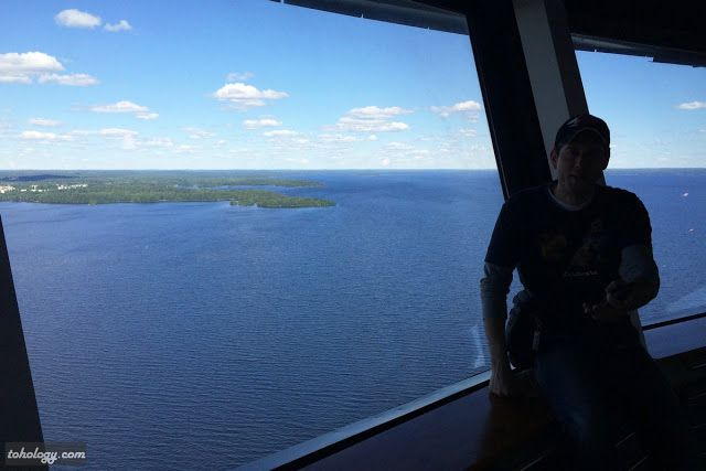 Observation decks Tohology: Tourism & Hospitality The #Näsinneula Tower in #Tampere, #Finland #attraction #Suomi #tourism #travel #excitement #family #tourists #leisure
