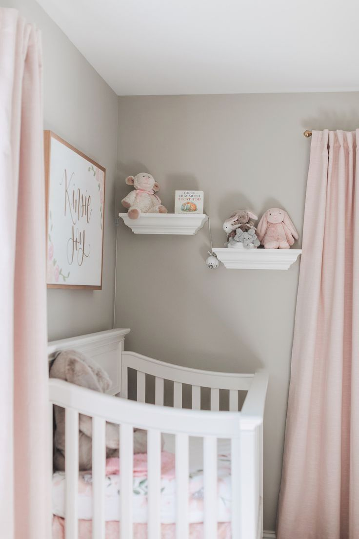 Baby Girl Nursery Tour In 2020 | Baby Girl Room Decor, Baby Girl Nursery Room, Nursery Baby Room