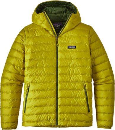 Patagonia Men's Down Sweater Hoodie Fluid Green XL