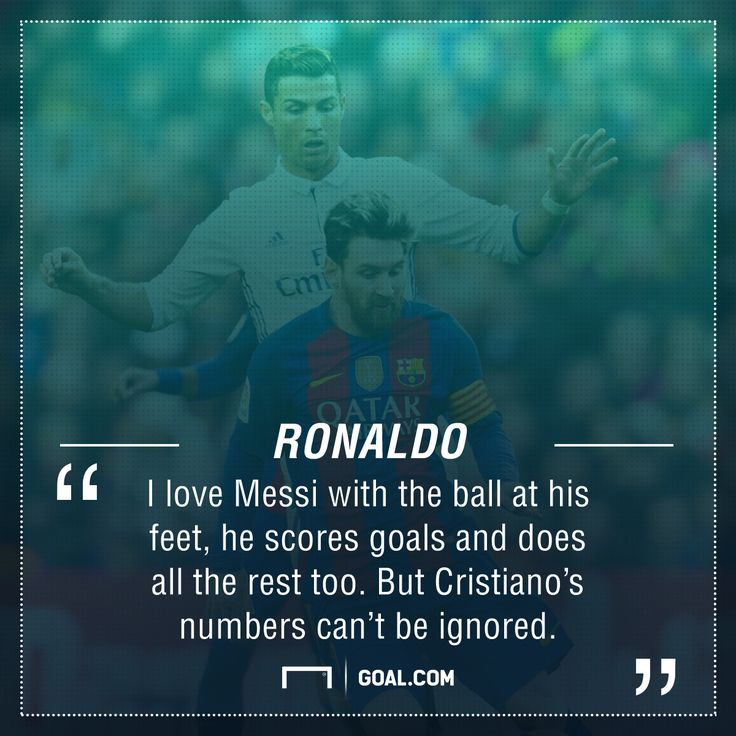 Ronaldo admits to Messi 'love' but tips namesake for another Ballon d'Or