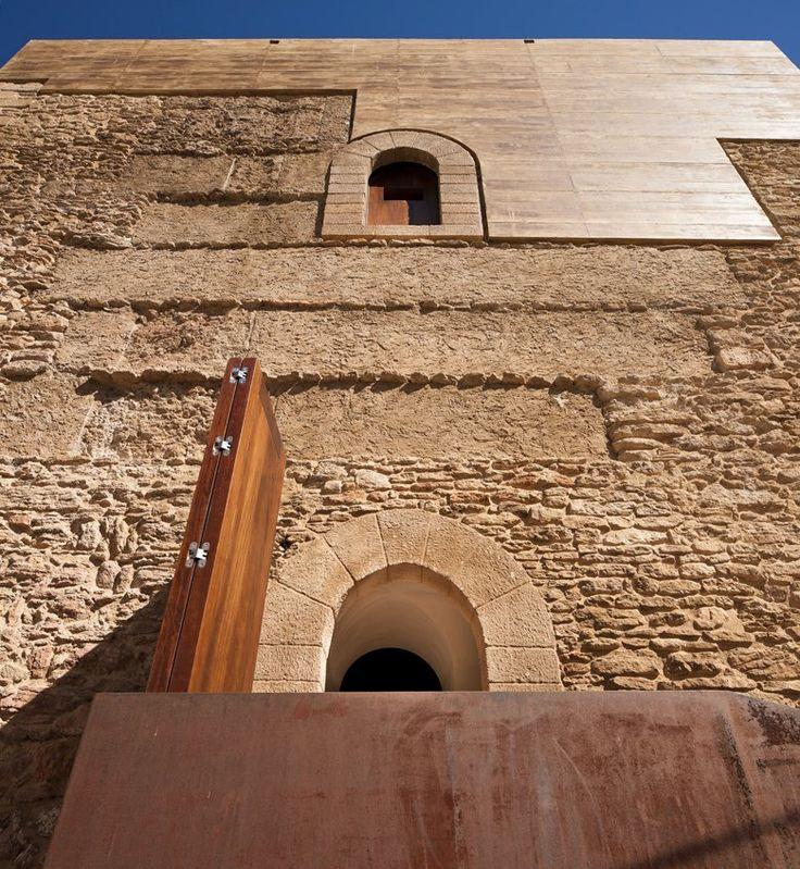 Restoration of the Setenil de la Bodegas Homage's Tower, Setenil de las Bodegas, 2014 - Fernando Visedo Manzanares