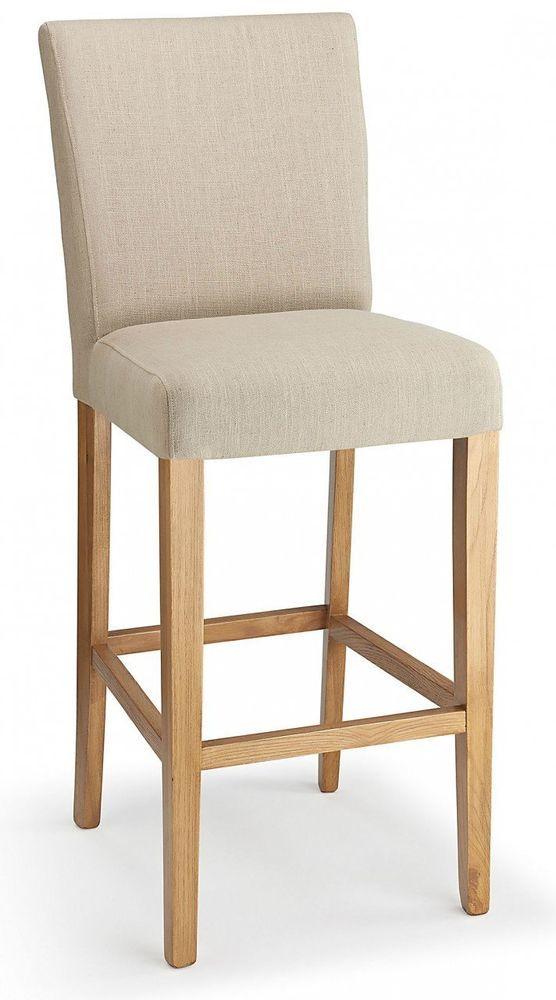 Pleasant Upholstered Bar Stool Wooden Fabric Home Hotel Breakfast Machost Co Dining Chair Design Ideas Machostcouk