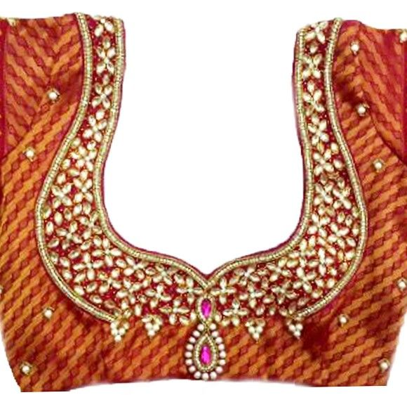 Silk Blouse Hand Embroidery 6