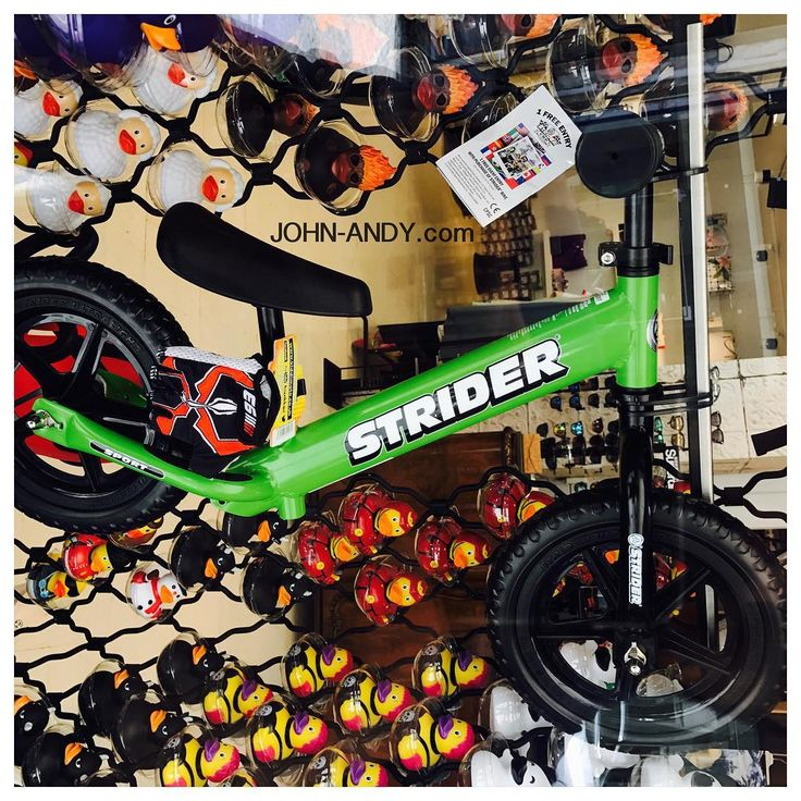 #johnandy #green #new  #kids #balancebike #strider #00302109703888  https://www.john-andy.com/gr/kids/balance-bikes-scooters/strider.html