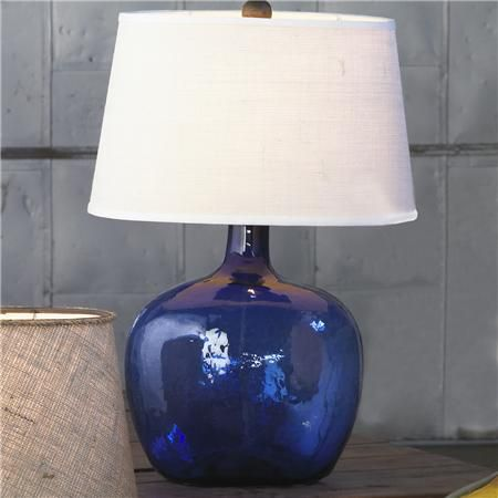 Shades of Light-  Demijohn Table Lamp - 8 Colors!