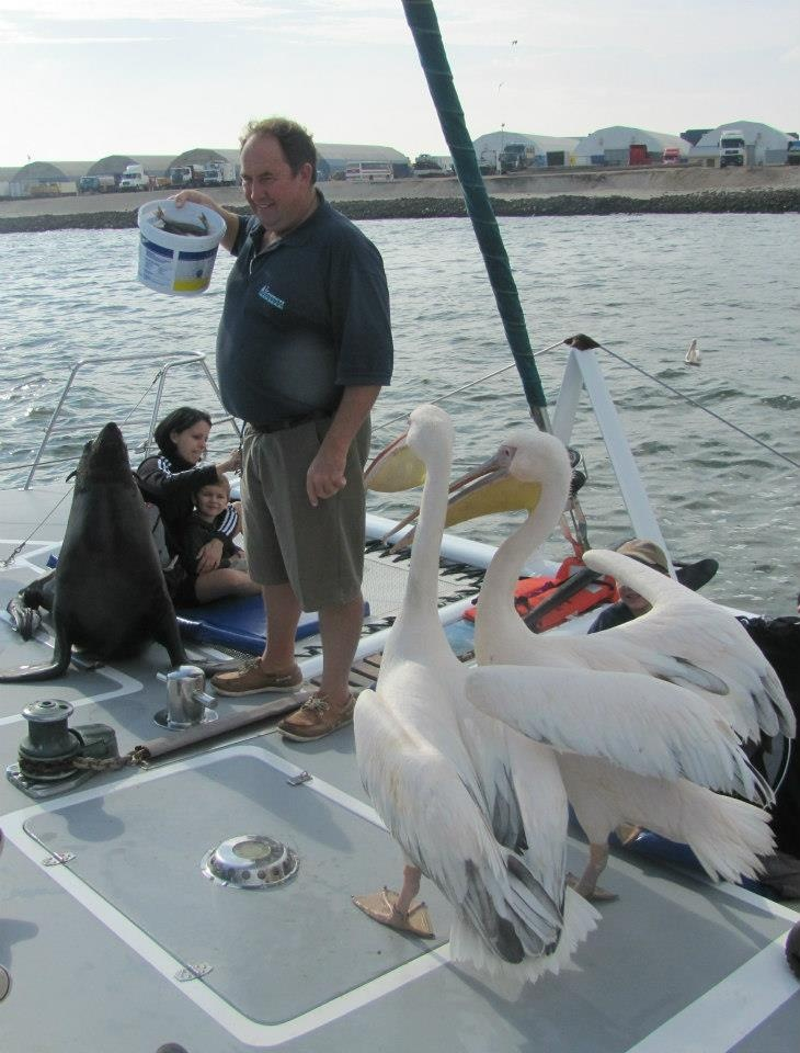 Catamaran Charters, Namibia, Walvis Bay - foto by Elize Celotto. www.namibiancharters.com or on Facebook