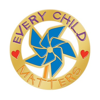 Every Child Matters Lapel Pins With Presentation Card  Item # LP1773S
