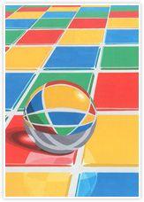 2012年度 多摩美術大学 プロダクトデザイン専攻 現役合格者再現作品:色彩構成