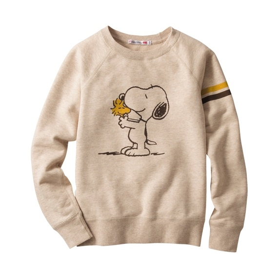 W SNOOPY Sweat Pullover
