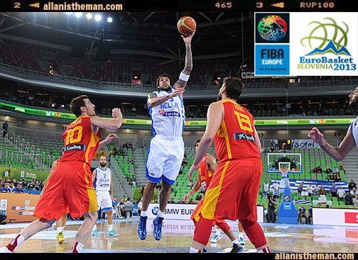EuroBasket 2013: Greece stuns Marc Gasol's Spain (Highlights VIDEO) | http://www.allanistheman.com/2013/09/EuroBasket-2013-Greece-stuns-Marc-Gasol-Spain-highlights-video.html