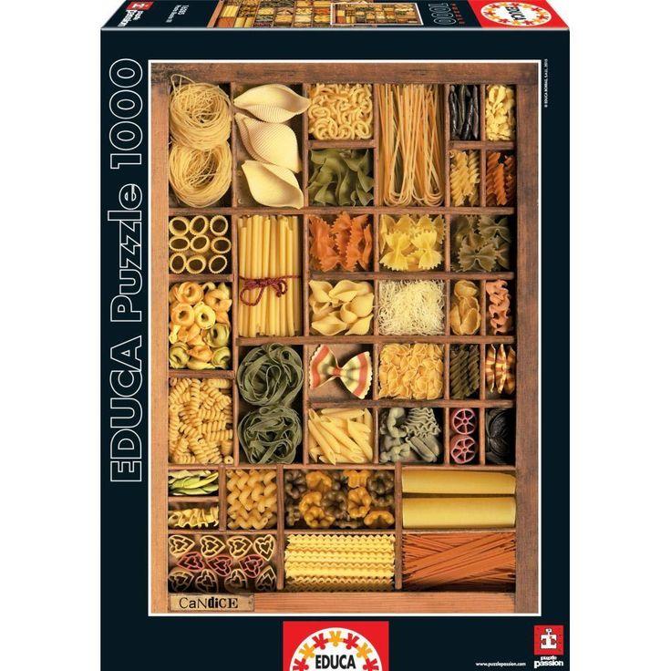 """Pasta Basta"" ~ a 1000 piece jigsaw puzzle by Educa Puzzles."