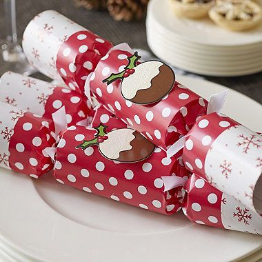 Christmas Pudding Crackers - from Lakeland