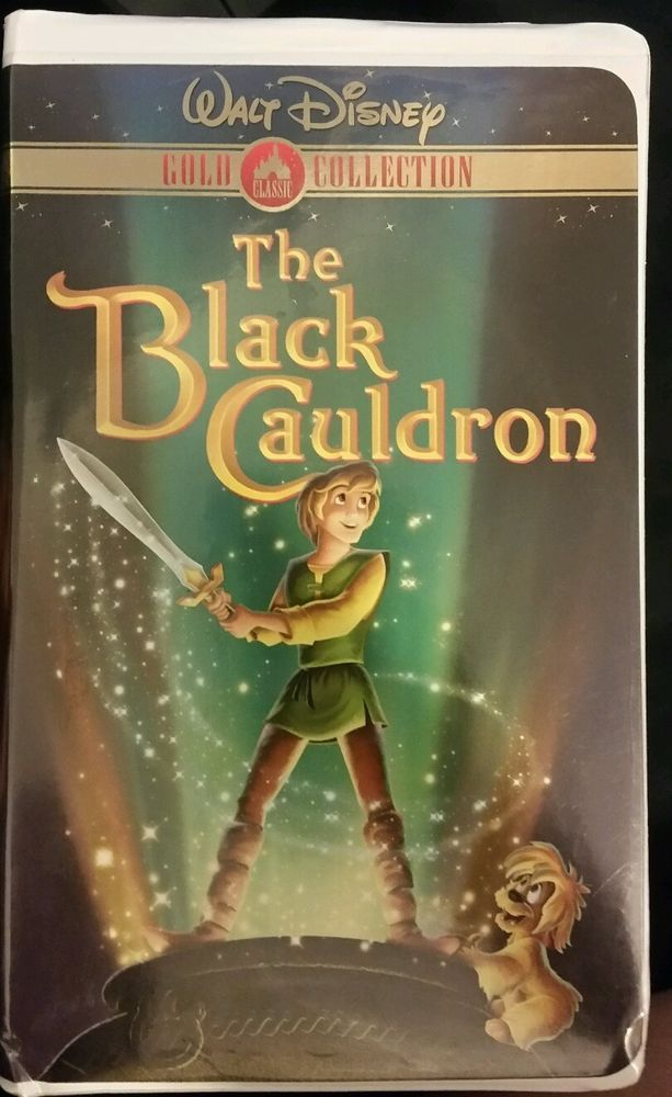 Walt Disney The Black Cauldron Gold Collection Vhs With