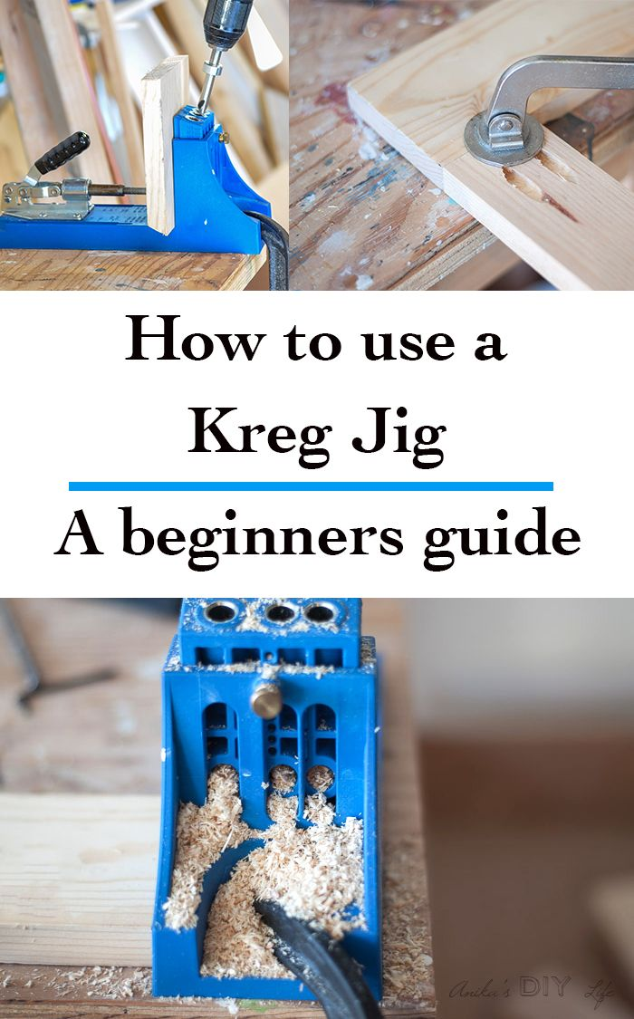 DIY Woodworking Ideas The most complete guide for using Kreg Jig - with a video tutorial