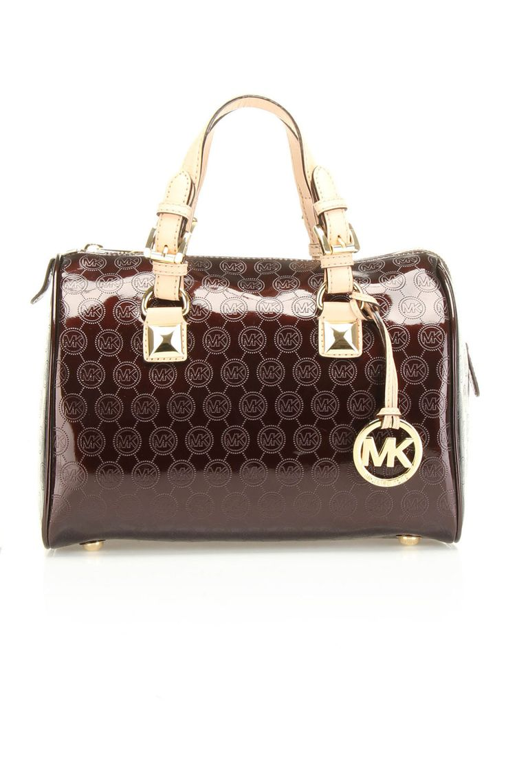 Michael Kors Medium Grayson Satchel In Coffee...my dream purse for a very long time