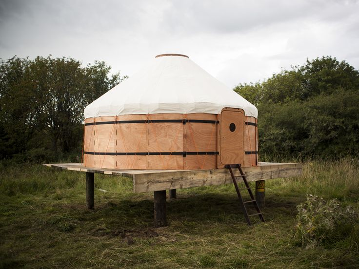 """Wired - """"A Handcrafted, Yurt That's Far Cooler Than Your House"""""""