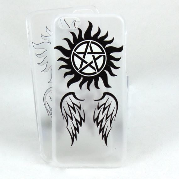 Supernatural Case for IPhone 5c - Angels and Demons