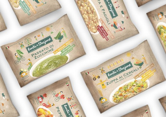 Bontà di stagione on Packaging of the World - Creative Package Design Gallery
