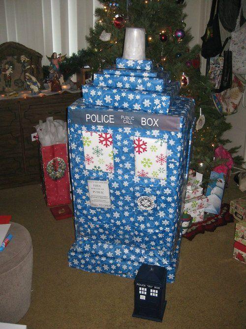 So My Wife Says I Won Christmas Already Tardis For